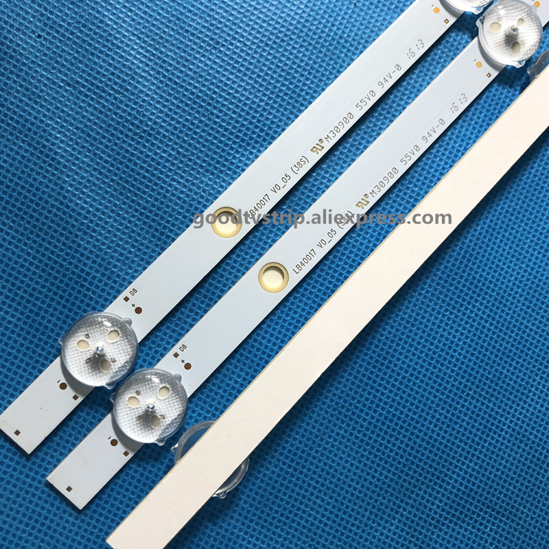 Computer & Office Good Led Backlight Lamp Strip For Lg Bush 40 Tv Ves400unds-2d-n11 Ves400unds-2d-n12 Lb40017 17dlb40vxr1