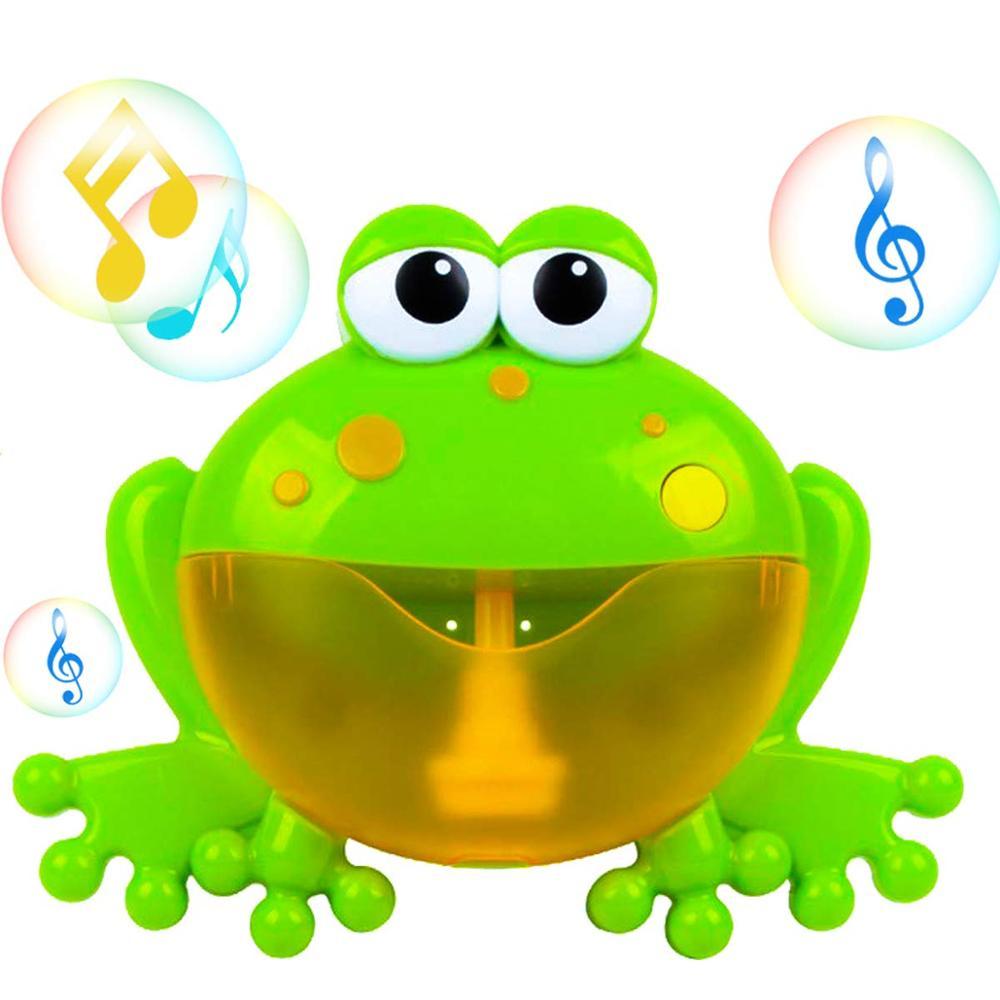 Frosch Baby Bad Spielzeug Blase Spielzeug Musical Wasser Spielzeug Blase Maker Mit Kindergarten Reim Badewanne Blase Spielzeug Für Kinder Infant Baby