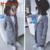 2016 Nuevos Niños y Niñas Otoño Invierno Niños de la Capa Larga bebé Unisex Chicos y Chicas de Moda de Manga larga Con Cuello En V Red abrigo