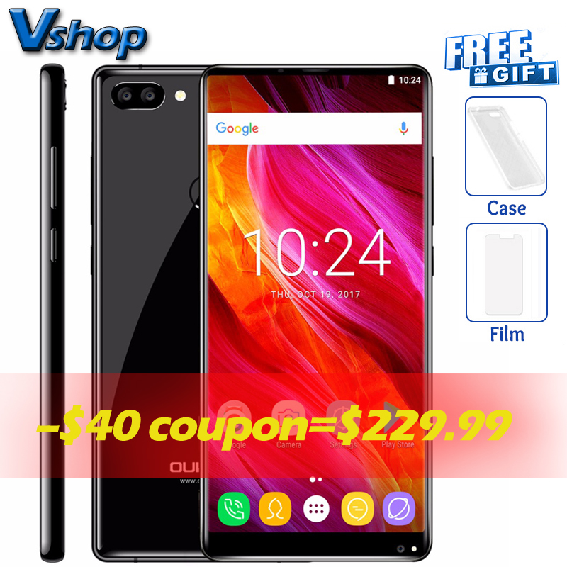 OUKITEL MIX 2 4G Mobile Phones Android 7.0 6 GB RAM 64 GB ROM Octa Core Smartphone