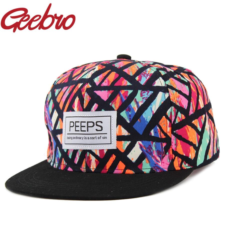 2017 New Pop Cotton Bone Aba Reta Peeps Snapback Hat