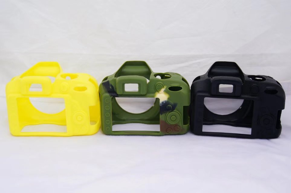 Nice Soft Camera Video Bag For <font><b>Nikon</b></font> D3300 <font><b>D3100</b></font> D3200 Silicone <font><b>Case</b></font> Rubber Camera <font><b>case</b></font> Protective Body Cover Skin image
