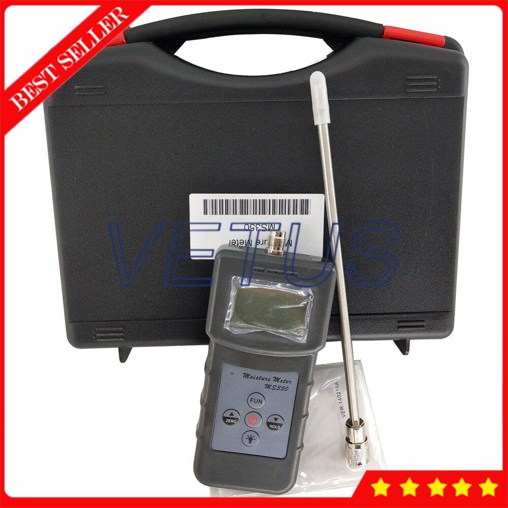 MS350 0 40 Digital Coal powder Moisture Meter with 4 digital LCD soil Moisture Tester Analyzer