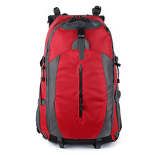 GZL 50L Nylon font b Oxford b font Waterproof Dry Bag Travel Bags Backpack Mountaineering Bag