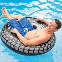 2019 New Black Tires Float Inflatable Swimming Ring Tube Raft Adult Giant Pool Big Size Toy Party Gifts for adults kids