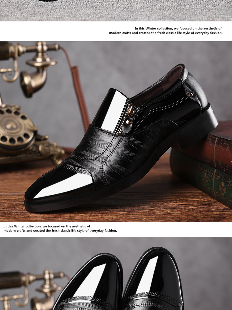 Luxury Business Oxford Leather Shoes 25