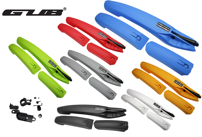 GUB 899 mountain bike Bicycle Fenders bike mudguard cycleing fenders with rear LED lights