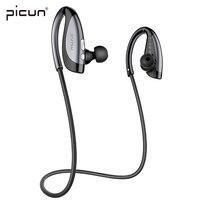 Picun h5インイヤースポーツランニングワイヤレスbluetoothヘッドセットステレオイヤホンピストンイヤフォン付きマイク重低