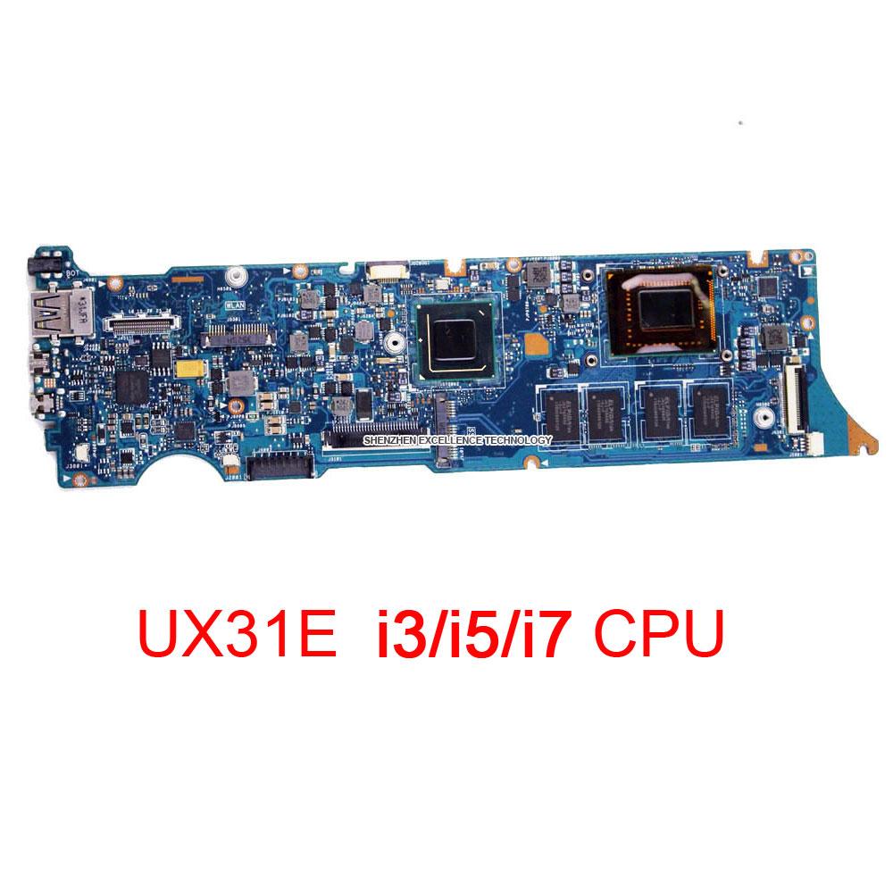 Prix pour En Stock UX31E Carte Mère D'origine Pour Asus UX31E Portable avec i5 2.3 Ghz CPU 4 GB RAM Mémoire Embarquée Maiboard de Travail parfait