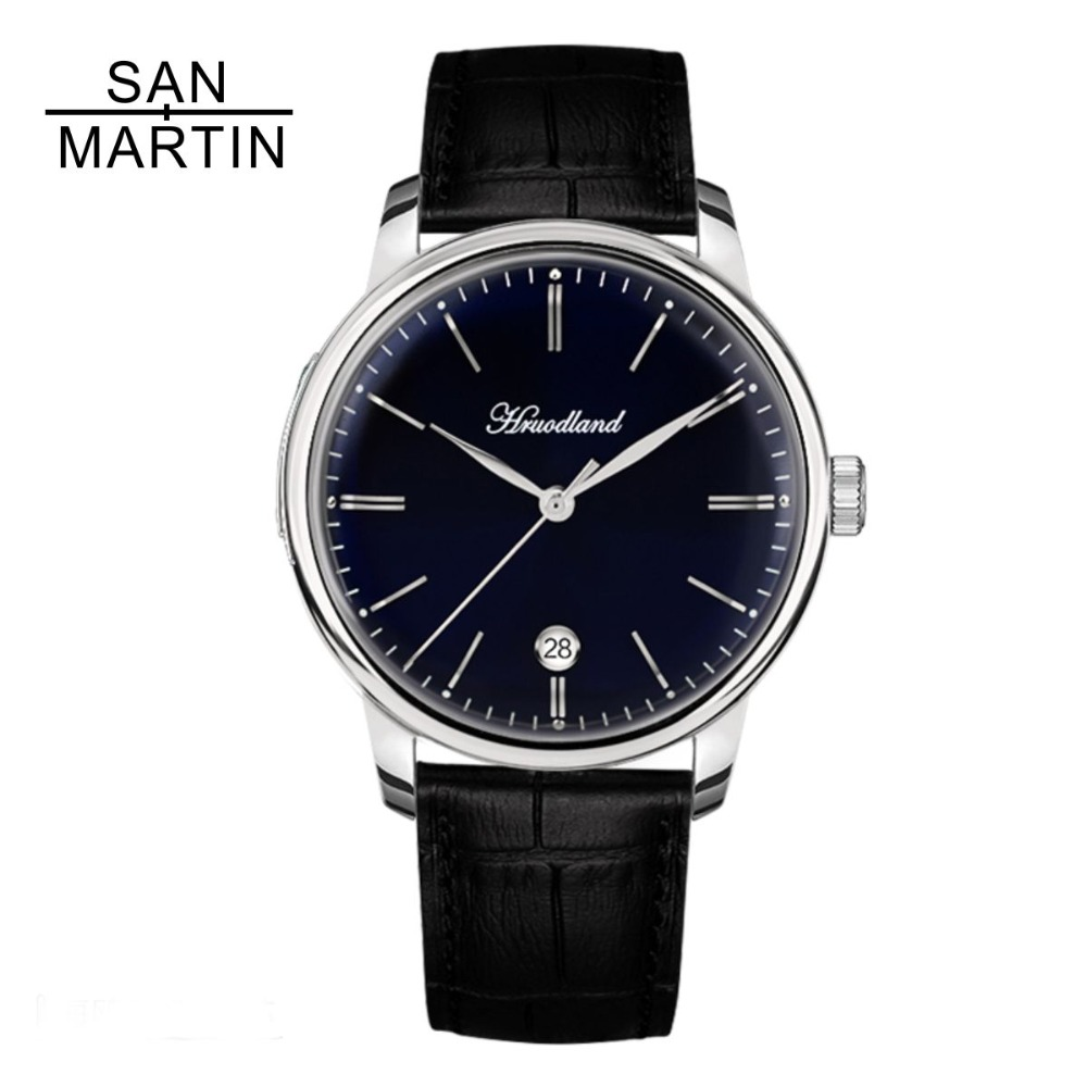 San Martin Men Automatic Watch 50 Meter Water Resistance Casual Sapphire Relojes Hombre 2018 Stainless steel