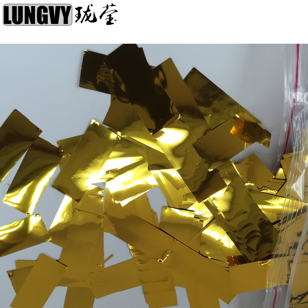 Commercial Lighting Sunny 10kg/lot Gold/silver Colorful Confetti Paper For Fog Machine Wedding Effect Easy And Simple To Handle Lights & Lighting