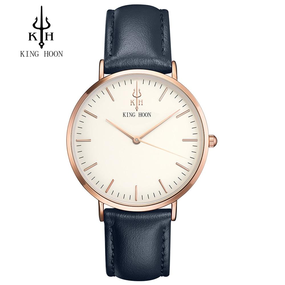 KING HOON 2017 Fashion Quartz Watch Men Watches Top Brand Luxury Male Clock Business Mens Wrist Watch Hodinky Relogio Masculino