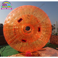 Bán Hot Tuyết PVC inflatable bóng zorb để bán, bóng zorb với đơn và đôi lối vào