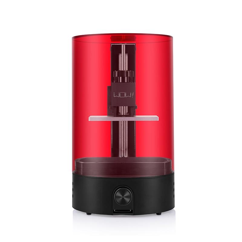 Sparkmaker wow resin UV curing SLA/DLP/LCD 3d printer print volume 98mm *55mm *125mm your first 3d Impresora /