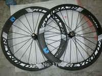 Nouveau 700C 60mm pneu jantes route vélo mat 3 K UD 12 K pleine fibre de carbone vélo roues 20.5 23 25mm largeur aero rayons livraison gratuite