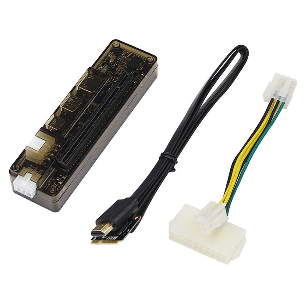 Carte vidéo ordinateur PCIE PCI-E V8.4D EXP GDC extner cartes graphiques Station d'accueil pour ordinateur portable Station d'accueil Mini pci-e-schnittstelle