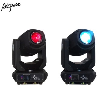 2 stks/partijen 200 W 3in1 Led Moving Head Licht 6 Gobos 7 Kleuren Prism Elektronische Lineaire Focus Sound Active Stage verlichting Beam Light