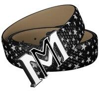 موضة m أحزمة رجالي إلكتروني مصمم حزام جلد طبيعي جودة عالية فاخرة ماركة الجينز classice خمر cintos masculinos