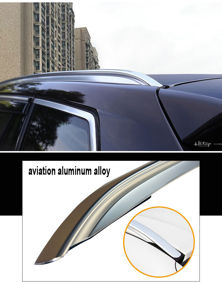 Auto Luggage Rack roof rail roof rack for X6 2015-2018.Thicken aluminum alloy,ISO9001 quality factory.Asia free shipping.