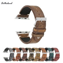 Onthelevel Vintage Handmade Mix Color Watch Strap for apple watch 42mm Replacement  Adapter Link Watch Band For iWatch стоимость