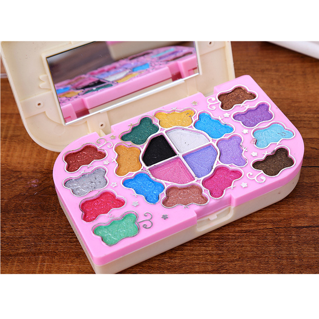 Portable Primer 20 Colors Makeup Shimmer Eye Shadow Palette Powder