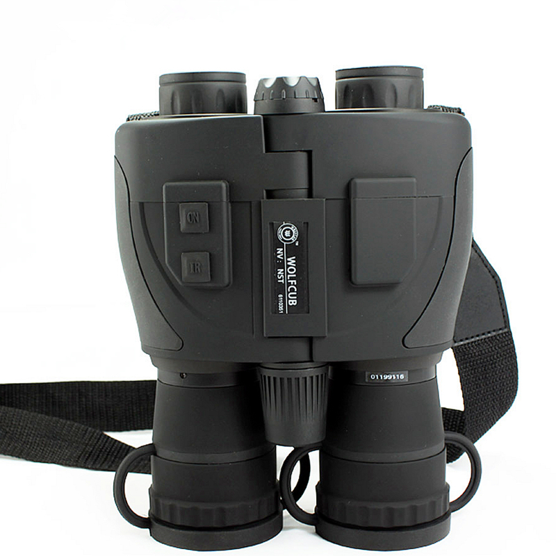 Professional Infrared Night Vision Binoculars Full darkness 5X zoom Telescope Powerful Tactical Scout binocular for Hunting Бинокль