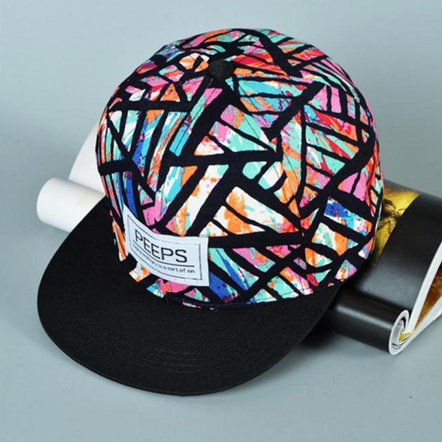 e4fb172e085 Fashion Men s women Adjustable Baseball Cap Hip Hop hat Cool Floral Print  Hat