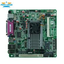 DDR3 RAM 1.8GHZ mini itx D525 motherboard dual core motherboard support 3G/WiFI