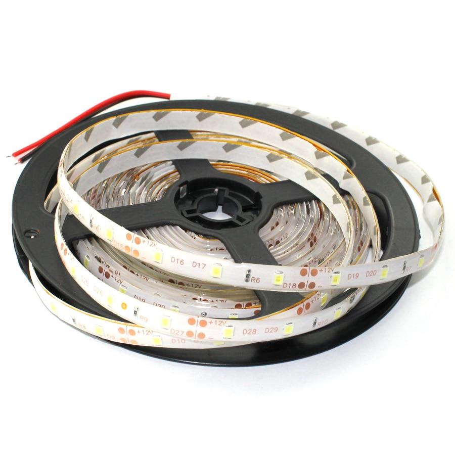 A14 свет 2835 Гибкая 60LED/M DC12V, водонепроницаемый 5 м/лот RGB белый/теплый белый/синий/зеленый/красный/желтый