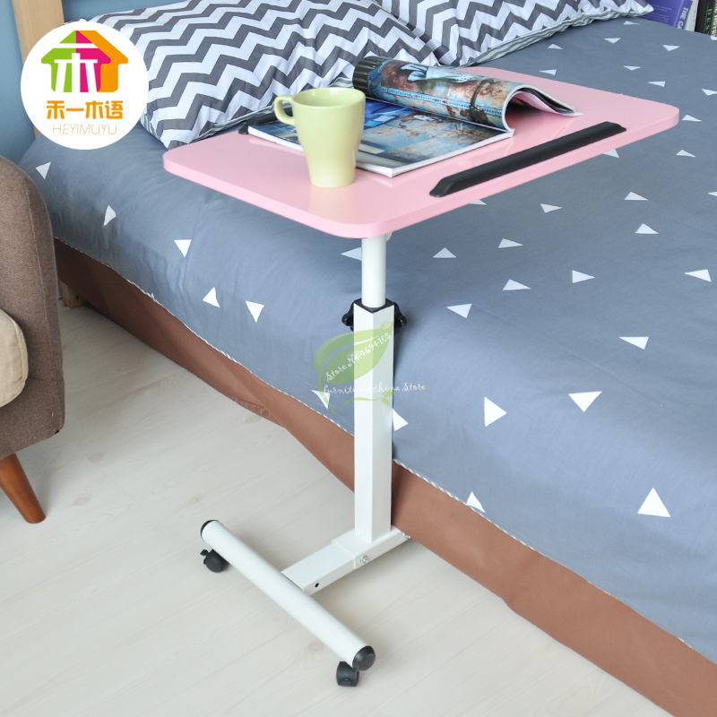 2018 Notebook Computer Desk Bed Learning With Household Lifting Folding Mobile Bedside Table Home Writing Desktop Computer Desk
