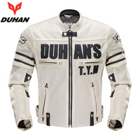 Genuine DUHAN Motorcycle Mesh Jacket breathable Drop resistance jackets racing clothing bike Protective gear protection jacket