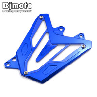 BJMOTO MT07 new Front Sprocket Chain Guard Cover Engine For Yamaha MT07 2013 2014 2015 2016 2017 2018 FZ07 2015 2018