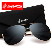 Polarized sunglasses male driver driving sun glasses with original package EXIA AGENT-27