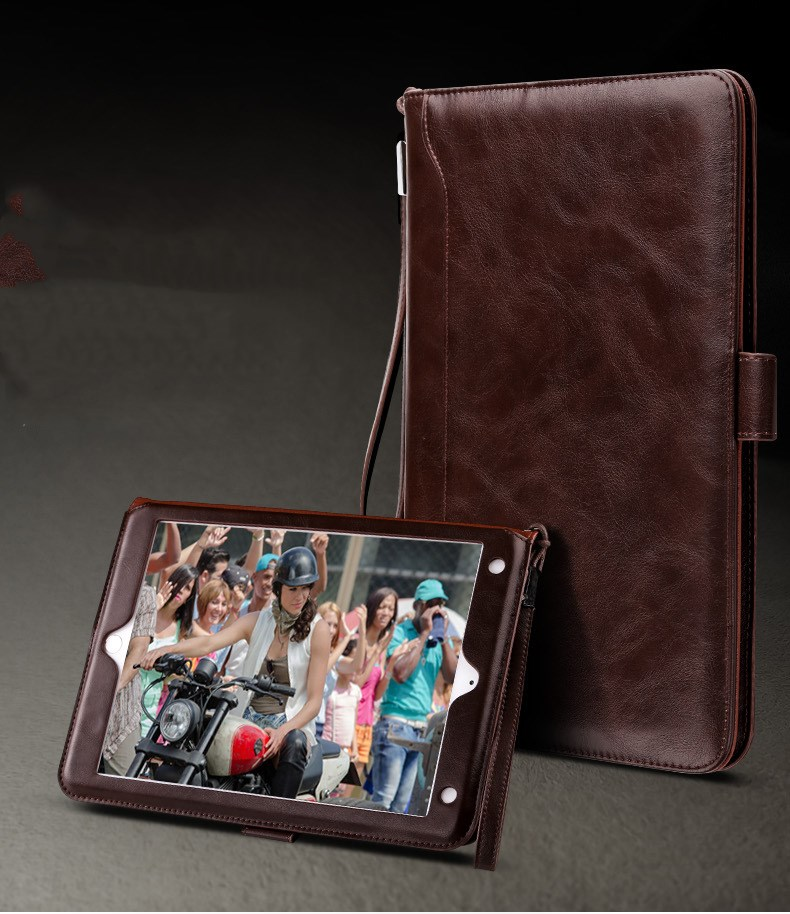 GrassRoot Leather Case For iPad Mini 1 2 3 4 Case Book Premium Leather Stand Case Smart Auto Wake/Sleep Cover