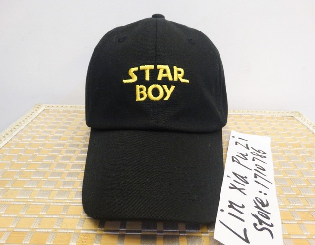 79e9e408db4 RARE Star Boy Girl hat snapback Baseball Cap The Weeknd Xo Embroidered Dad Hat  Drake Kanye