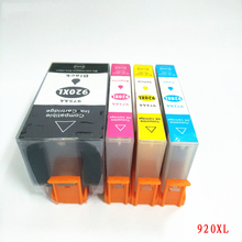 Vilaxh 920 compatible ink cartridge for HP 920XL For HP Officejet 6000 6500 6500A 7000 7500 7500A printer with chip все цены
