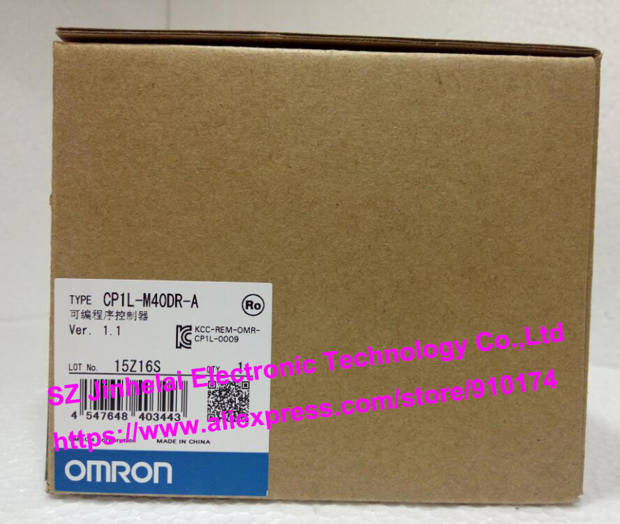 100% New and original  CP1L-M40DR-A  OMRON PLC CONTROLLER [zob] 100% new original omron omron proximity switch e2e x10d1 n 2m