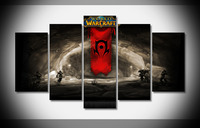 7118 18274 world of warcraft poster Framed Gallery wrap art print home wall decor wall picture Already to hang digital print