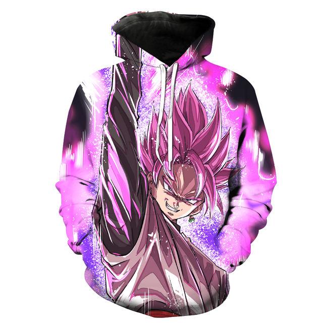 Goku Black 3D Hoodie