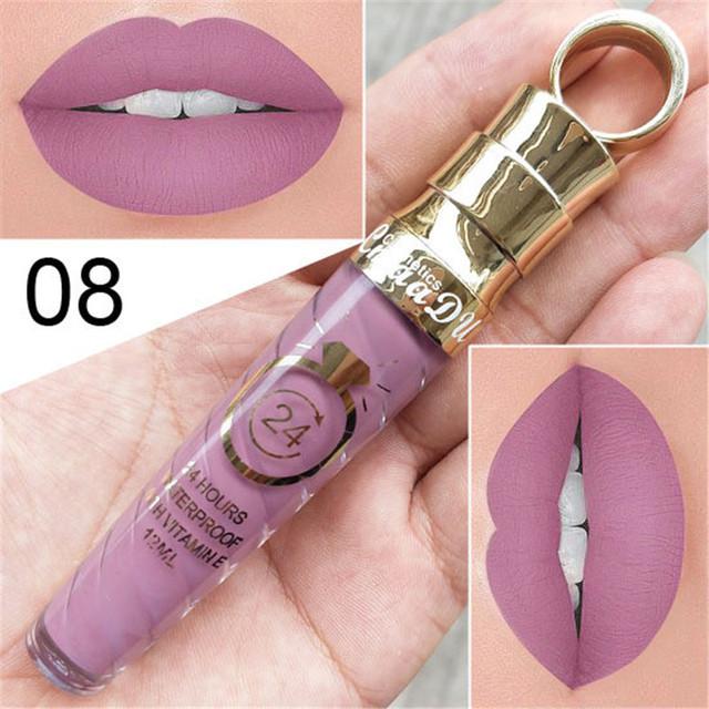 Matte Liquid Waterproof  and Long Lasting Lipstick
