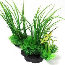 Ornament Artificial Aquarium Flexible Fish Tank Plant Water Underwater Grass Decor Plastic