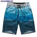 NORMANDOS Roupas de Marca Moda masculina Board Shorts Mapa Impressão Shorts Para Homens Swimwear Calções dos homens Venda Quente plus Size