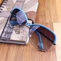 NUEVO 3 Color 2014 NUEVO Remache Retro de las gafas de sol de moda de mujer de marca diseñador gafas de sol gafas de envío gratis