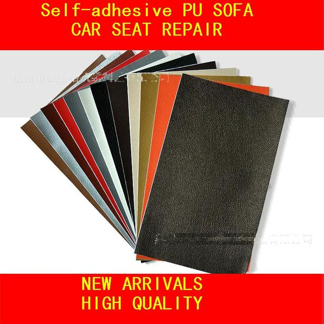 10pcs Lot 50x25cm Self Adhesive Pu Leather Patches Repairing Sofa Bed Car Seat Accessories