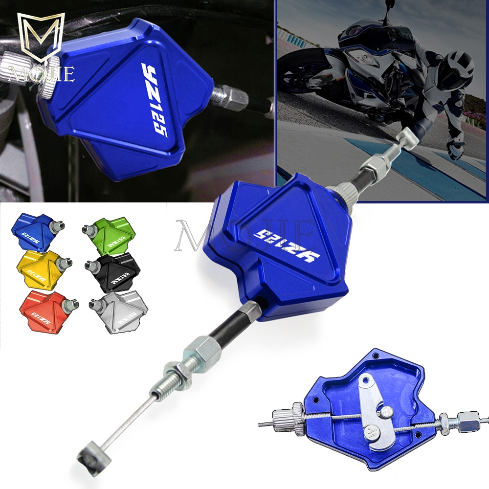 Blue Billet Gas Fuel Tank Cap Cover For Yamaha YZ125 YZ250 2002-2016 with releave pipe