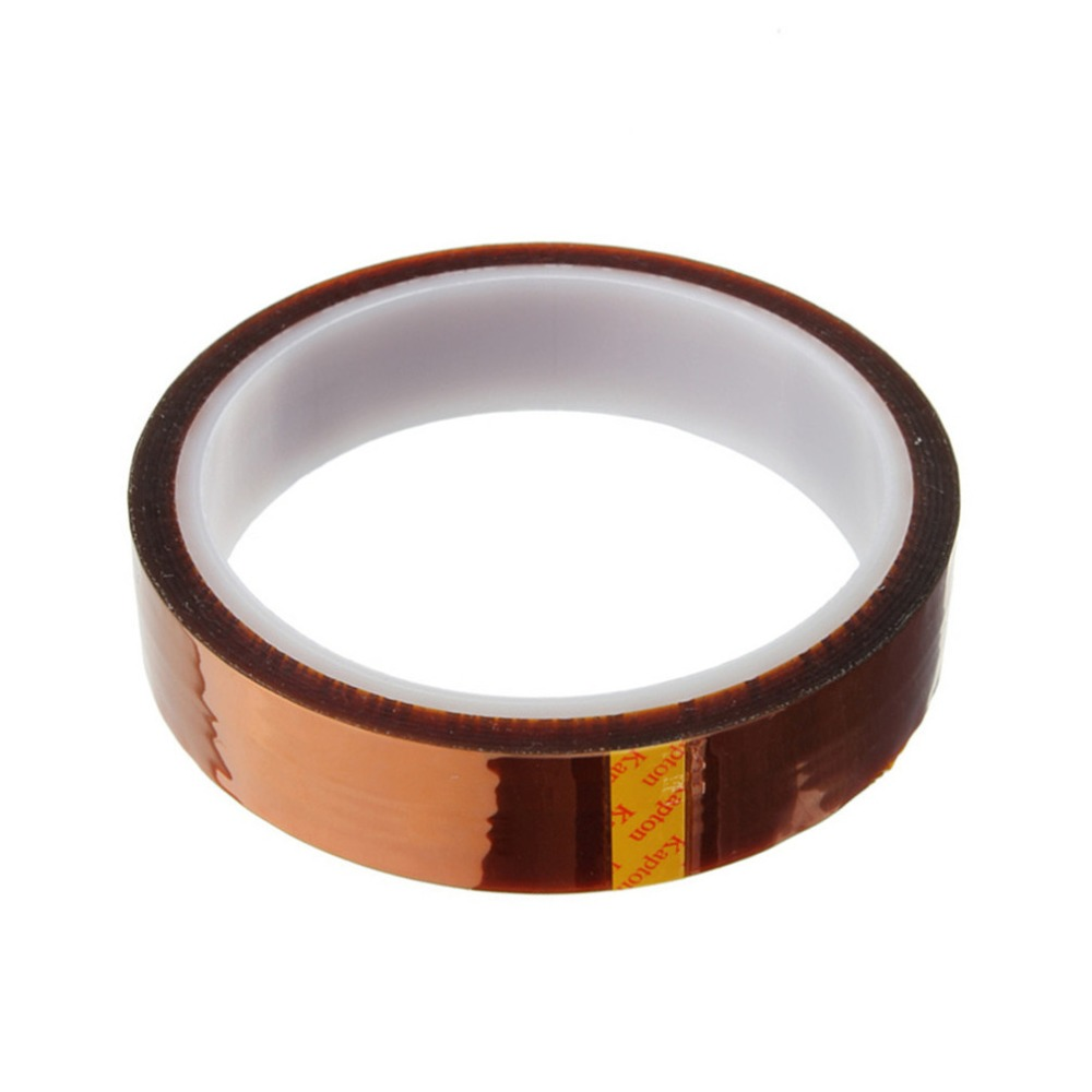 1Pc Width 5/10/15/20mm... Length 33M Heat Resistant Polyimide Tape High Temperature Adhesive Insulation Kapton Tape игра настольная stupid casual дорожно ремонтный набор