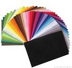 42 цветов/много 30 СМ Х 20 СМ Чувствовал Стеклоткань, Полиэстер, нетканые Чувствовал, 1 ММ Толщиной, ткани Ручной Работы DIY Не тканые Ткани