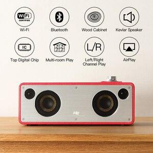 Image 2 - GGMM M3 40W głośnik Bluetooth WiFi głośnik bezprzewodowy ciężki bas HiFi Subwoofer Audio najlepszy głośnik wsparcie Multiroom DLNA Airplay