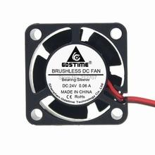 1PCS 2Pin 25MM 25 x 10mm 2510 DC Axial 24 volt Cooler Fan