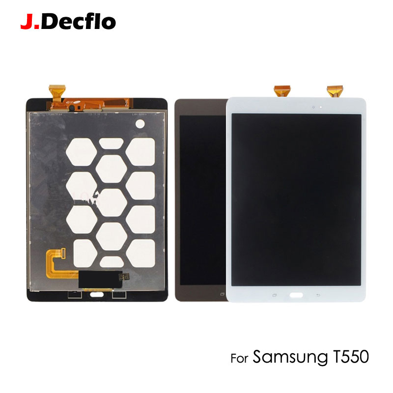 Original For Samsung Galaxy Tab A 9.7 SM-T550 T550 T551 T555 Touch Screen Digitizer with Full LCD Display Assembly White BlackOriginal For Samsung Galaxy Tab A 9.7 SM-T550 T550 T551 T555 Touch Screen Digitizer with Full LCD Display Assembly White Black